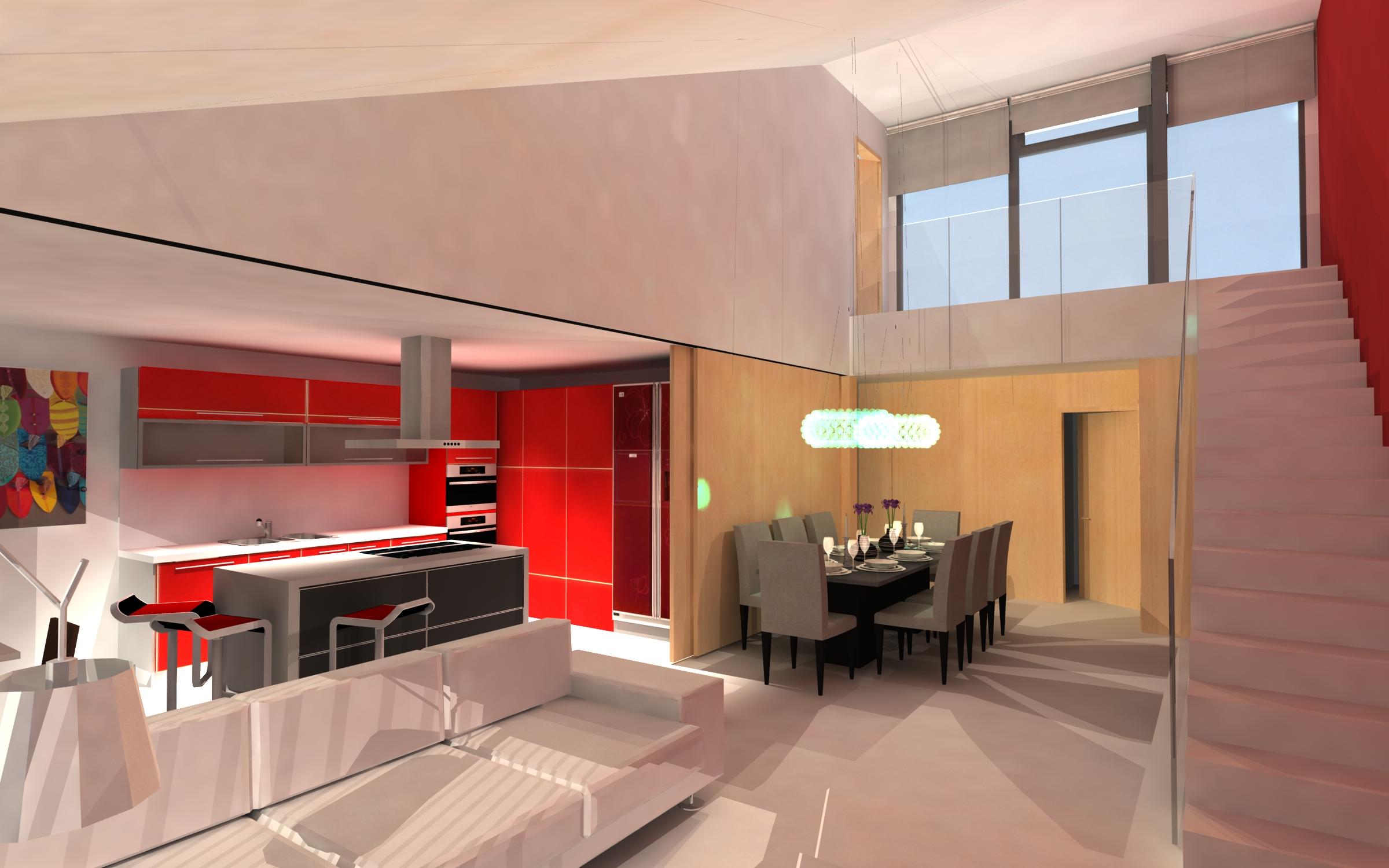 Proyecto de construcci n de vivienda unifamiliar entre - Proyectos casas unifamiliares ...